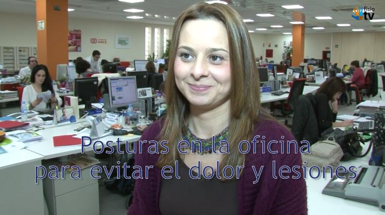 Fisio.TV – vídeo El fisioterapeuta responde: Posturas en la oficina